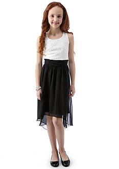 Speechless High-Low Shimmer Dress Girls 7-16