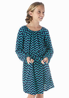 Speechless Chevron Knit Dress Girls 7-16