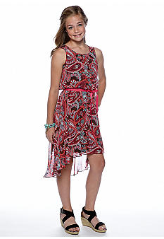 Speechless Paisley Hi Low Dress Girls 7-16