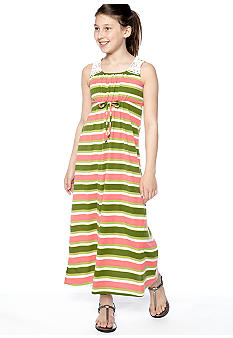 Speechless Striped Maxi Dress Girls 7-16