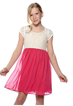 Speechless Lace Babydoll Dress Girls 7-16