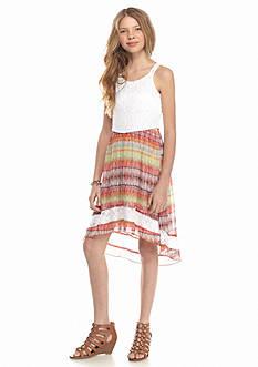 Speechless Lace to Chiffon High Low Dress Girls 7-16