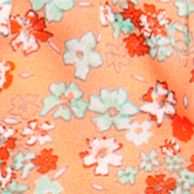 Baby & Kids: Speechless Girls: Light Jade/Peach Speechless Floral Tiered Skirt Girls 7-16