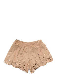 Speechless Suede Laser Cut Shorts Girls 7-16