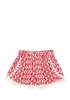 Speechless Tribal Print Tassel Soft Shorts Girl 7-16