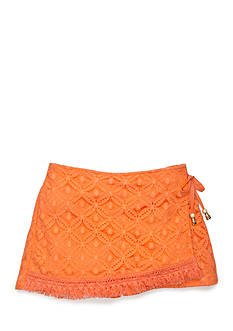 SEQUIN HEARTS girls Crochet Wrap Skort Girls 7-16