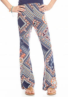 SEQUIN HEARTS girls Multi Printed Flare Pants Girls 7-16