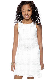 My Michelle Lace Dress Girls 7-16