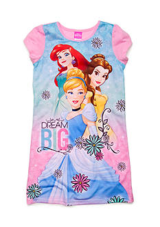Disney Princess Character 'Dream Big' Night Gown Girls 4-10