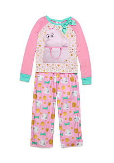 AME 2-Piece The Secret Life of Pets Pajama Set Girls 4-16