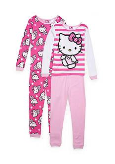 Hello Kitty 4-Piece Pajama Set