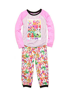 Shopkins™ 2-Piece Character Raglan Pajama Set Girls 4-16