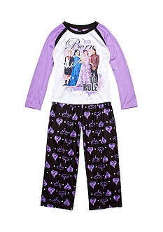 Disney 2-Piece Descendants 'Born to Rule' Pajama Set Girls 4-16