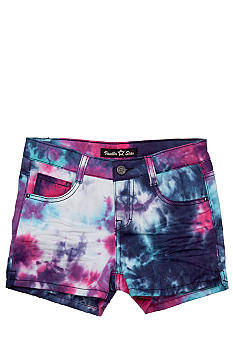 Vanilla Star Tie Dye Shorty Short Girls 7-16
