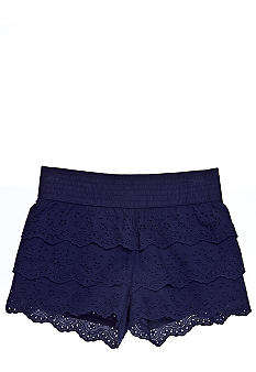 Vanilla Star Eyelet Tier Shorty Girls 7-16