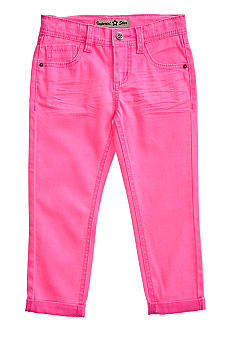 Vanilla Star Neon Crop Jean Girls 4-6X