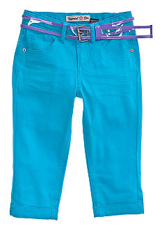 Imperial Star Belted Crop Pants Girls 7-16