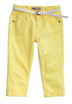 Imperial Star Belted Cropped Pant Girls 7-16