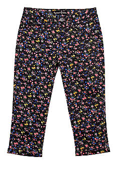 Imperial Star Floral Cuffed Crop Girls 7-16