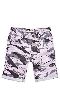 Imperial Star Butterfly and Camo Bermuda Short Girls 7-16
