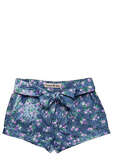 Imperial Star Floral Shorty Short Girls 7-16