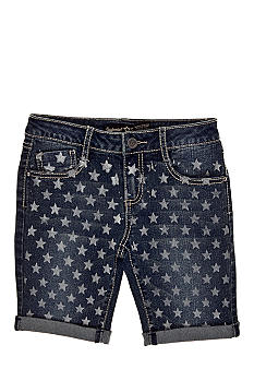 Imperial Star Star Print Shorts Girls 7-16