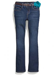 Imperial Star Flower Belt Bootcut Jeans Girls 7-16