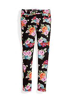 Imperial Star Floral Knit Pants Girls 7-16