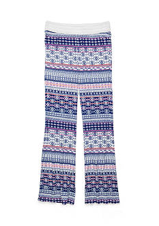 Imperial Star Tribal Crop Soft Pants Girls 7-16