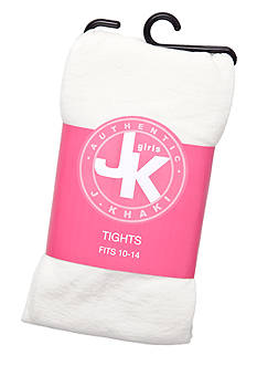 J Khaki™ Solid Tights Girls 2-14