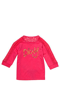 DKNY Charmer Popover Top Girls 7-16