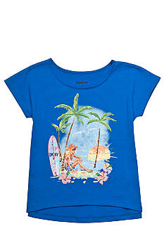 DKNY Surfer Girl Tee Girls 4-6X