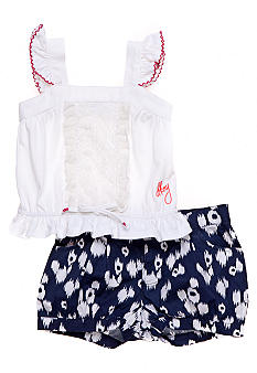 DKNY Lanai Short Set Girls 4-6x
