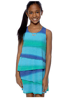DKNY Layered Dress Girls 7-16