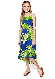 DKNY Paradise Hi Low Dress Girls 7-16