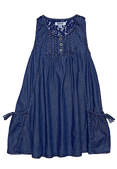 DKNY Denim Reef Dress Girls 4-6X