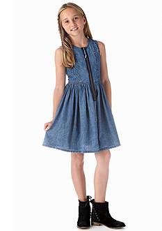 DKNY Indian Summer Denim Dress Girls 7-16