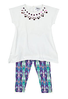 DKNY Calypso Legging Set Girls 4-6X