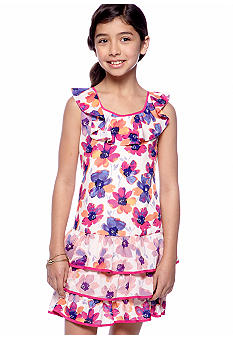 DKNY Electric Bloom Dress Girls 7-16