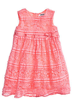 DKNY Tulip Dress Girls 4-6X