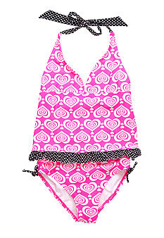 Angel Beach Wild at Heart Tankini Girls 7-16