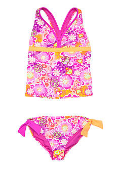 Angel Beach Hula Honey Tankini Girls 7-16