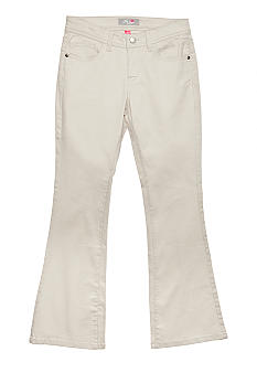 J Khaki Solid Twill Pant Girls 7-16