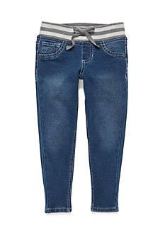 J Khaki™ Stripe Waistband Skinny Jegging Girls 4-6x