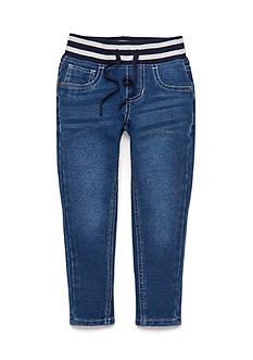 J Khaki™ Elastic Waistband Knit Skinny Jeans Girls 4-6x
