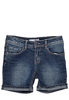 J Khaki Denim Shorts Girls 7-16