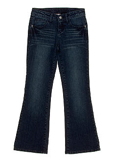 J Khaki Five Pocket Slim Fit Flare Jean Girls 7-16