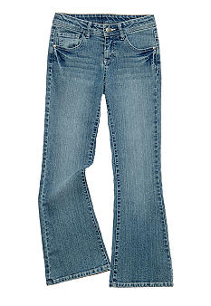 J Khaki™ Slim Fit Five Pocket Flare Leg Jean Girls 7-16