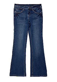 J Khaki Flap Pocket Denim Pant Girls 7-16