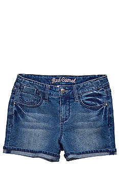 Red Camel Girls Denim short with frayed cuff Girls 7-16